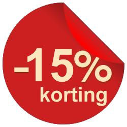 15korting NL