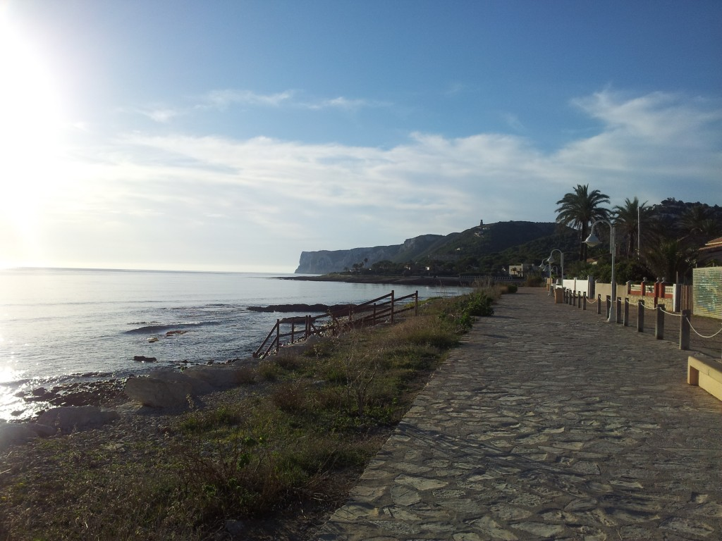 Playa las rotas denia