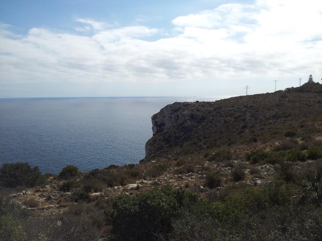 Acantilados cabo San antonio