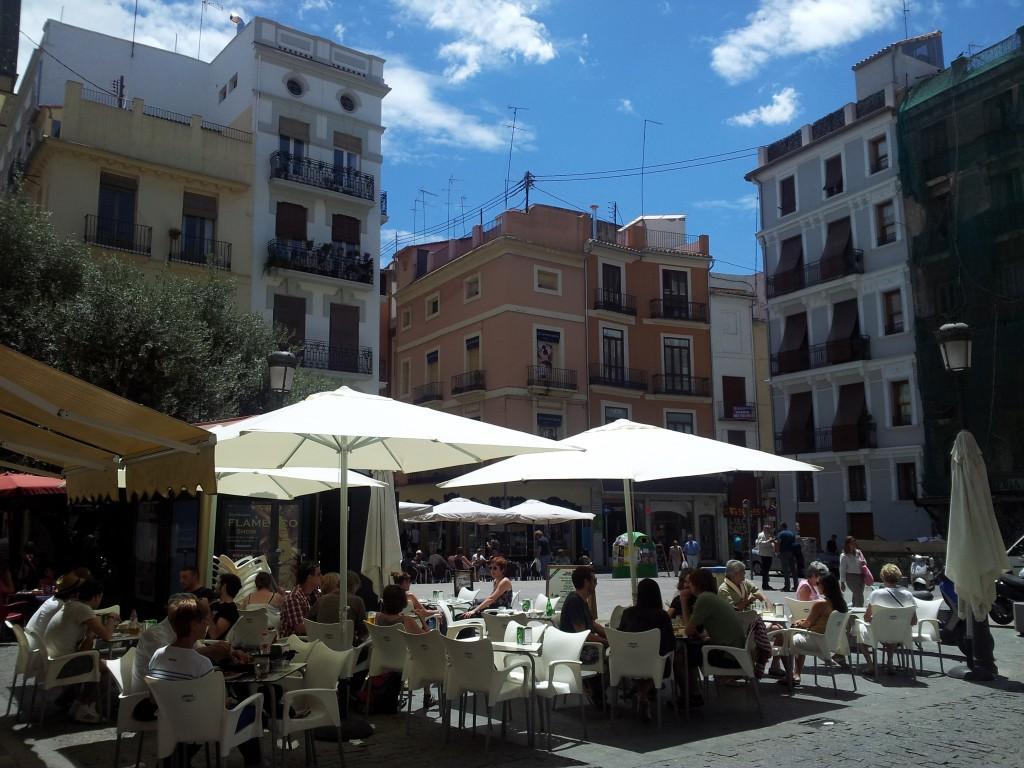 Terraza en Valencia