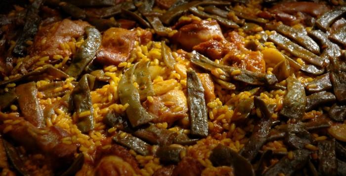Paella Valenciana typique