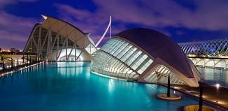 La cité des arts et des sciences à Valence