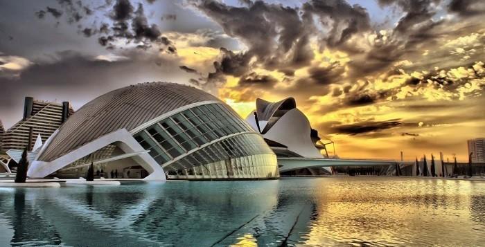 A la poursuite de demain ou Tomorrowland a été tourné à la Cité des arts et des Sciences de Valencia