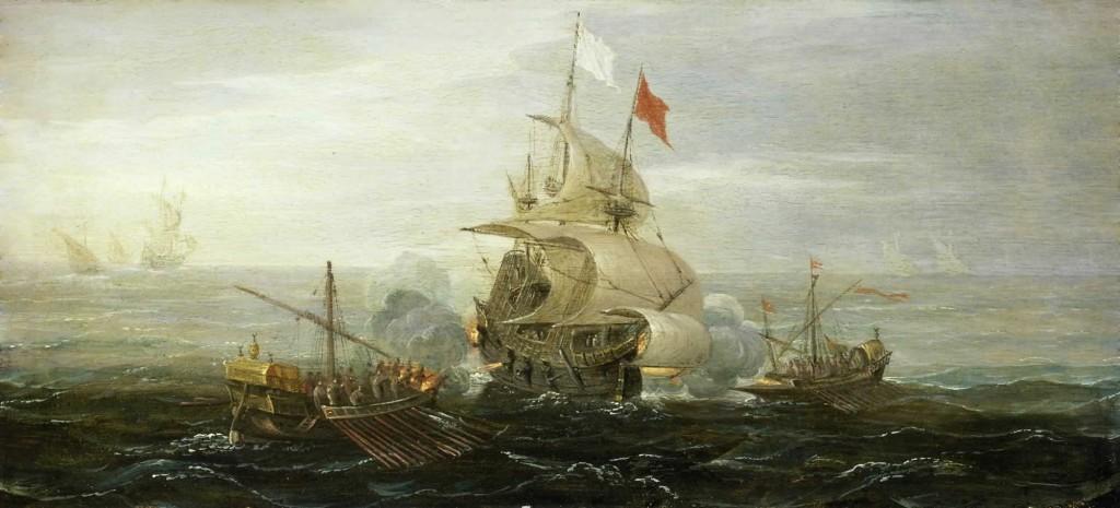 Les pirates sévissent à Dénia aux XVème et XVIème siècles