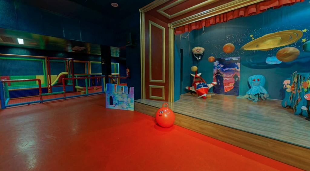 Photo des locaux de jeux de Ciudad Fantasia.